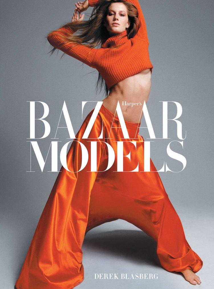 『Harper's Bazaar: Models』表紙。モデルは Gisele Bündchen (ジゼル・ブンチェン)