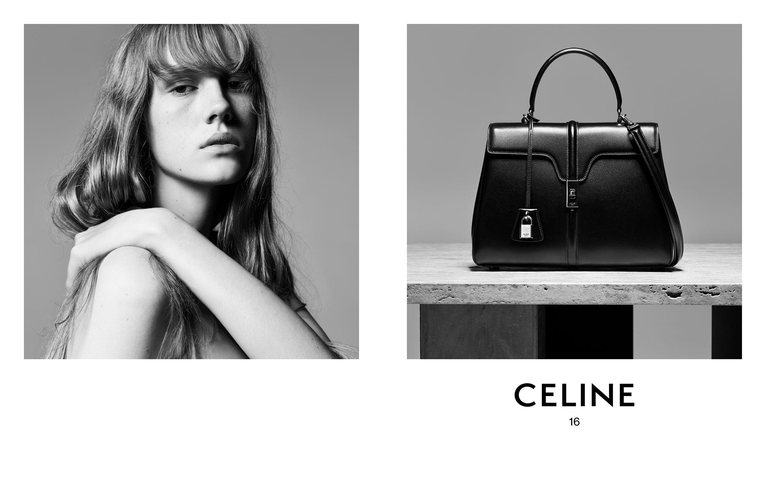 eea5f2cfdf0b Celine (セリーヌ)、Hedi Slimane (エディ・スリマン) による初めてのバッグ「16 (セーズ)」が登場