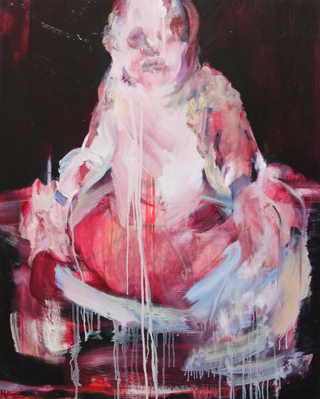 margarita7 サイズ: 100 x 80cm キャンバスに油彩 2015