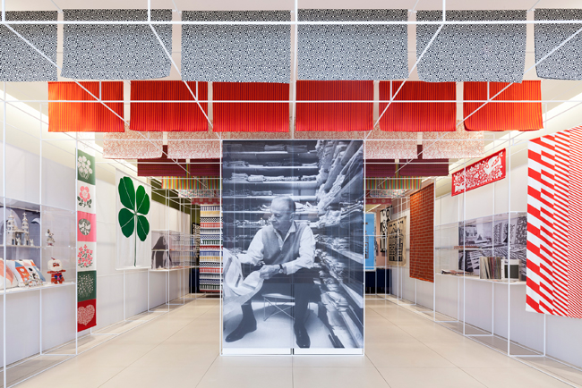 """2013 年ニューヨークで開催された""""Alexander Girard: An Uncommon Vision""""より"""