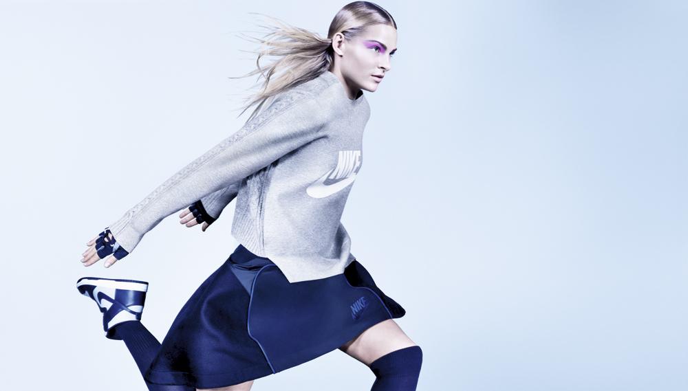 NikeLab × sacai 2015年フォールコレクションのモデルに起用されたのは Daria Klishina (ダリヤ・クリシナ) | © Nike