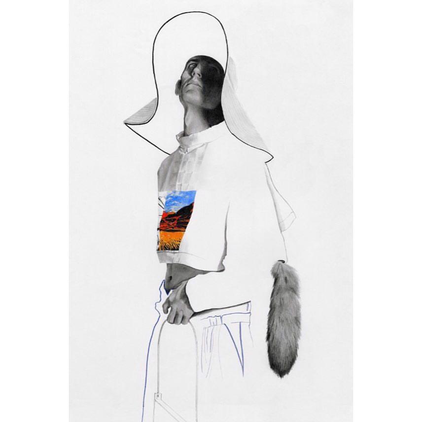 「スターウォーズ」と Selfridges のコラボコレクションは、それぞれロンドンの気鋭ファッションイラストレーター Richarl Kilroy (リチャード・キルロイ) によって描かれている。