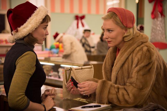 『キャロル』© NUMBER 9 FILMS (CAROL) LIMITED CHANNEL FOUR TELEVISION CORPORATION 2014 ALL RIGHTS RESERVED