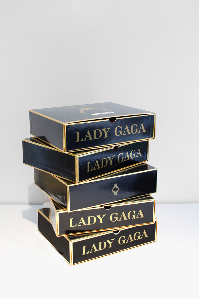 Lady Gaga Parfums Visual identity and packaging design consulting by Homework Collaboration with COTY / Haus Laboratories, Paris Bottle design by COTY / Haus Laboratories© Lady Gaga Parfums /coty.com