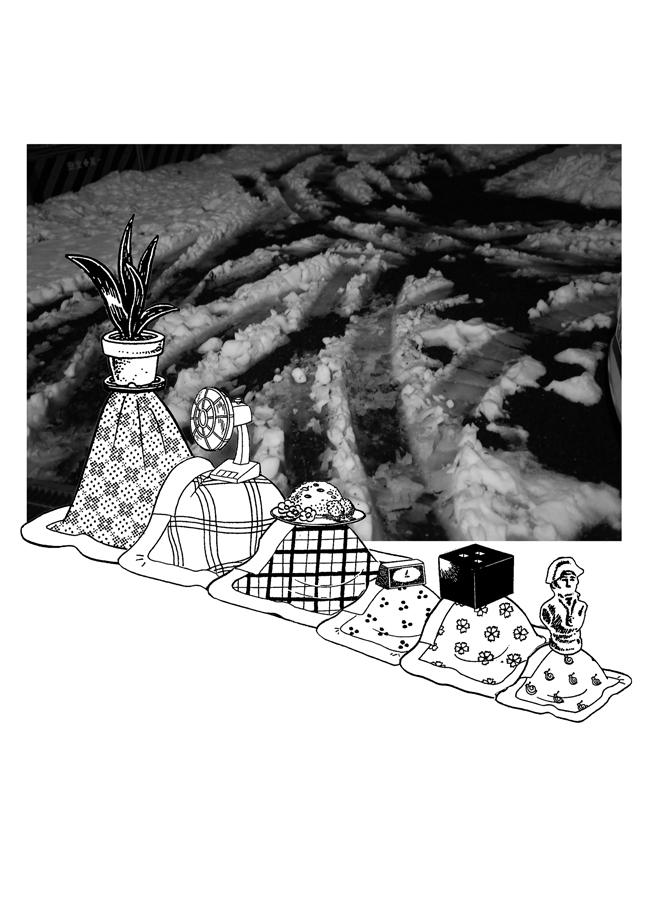 金氏徹平『Games, Dance & The Constructions (AKATSUKA#1')』 ©金氏徹平