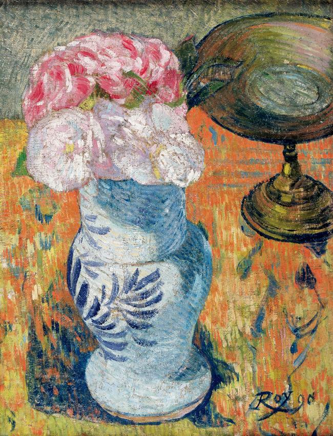 ルイ・ロワ [カンペール焼きの花瓶の静物] 1890年 ブレスト美術館 Musée des beaux-arts de Brest, France
