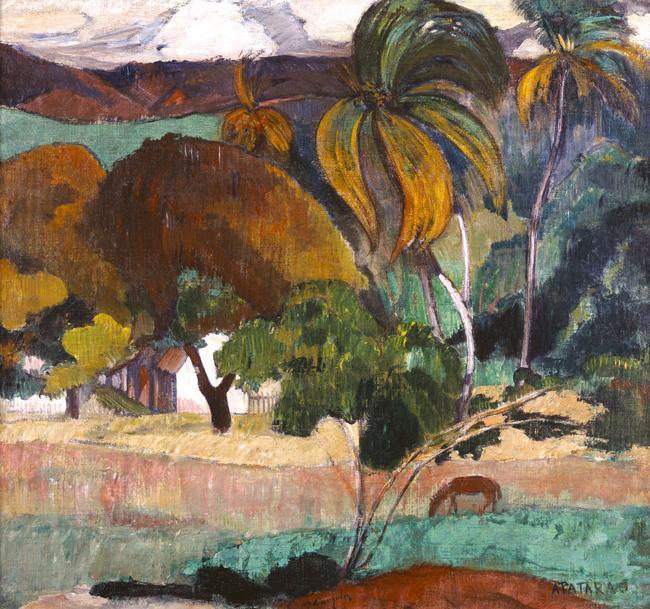 ポール・ゴーギャン [タヒチの風景] 1893年 (?) ニイ・カールスベルグ・グリプトテク美術館、コペンハーゲン Ny Carlsberg Glyptotek, Copenhagen