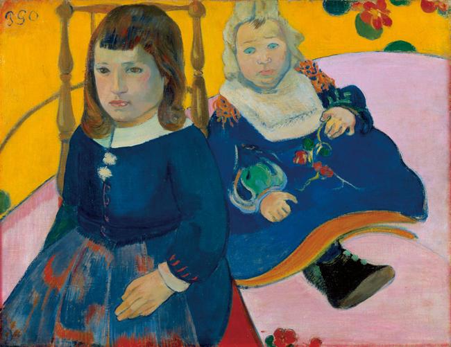 ポール・ゴーギャン [2人の子供] 1889 (?) 年 ニイ・カールスベルグ・グリプトテク美術館、コペンハーゲン Ny Carlsberg Glyptotek, Copenhagen