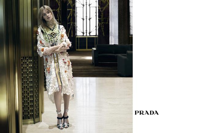 Natalia Vodianova © Prada