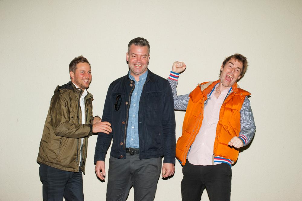Dave Konopka (デイヴ・コノプカ), John Stanier (ジョン・ステニアー), Ian Williams (イアン・ウィリアムス) | Photography: Hidemasa Miyake
