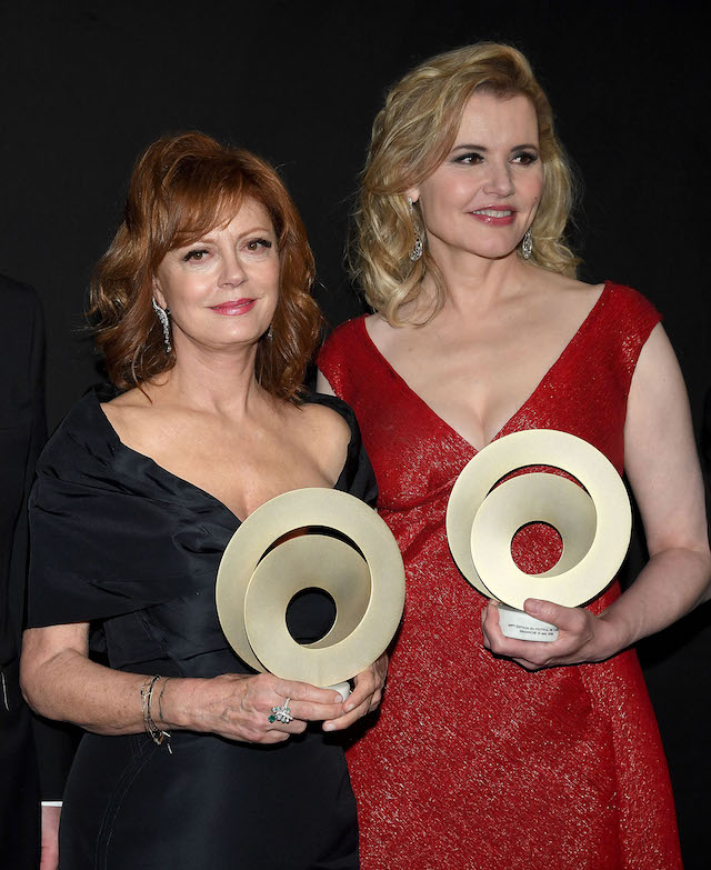 Susan Sarandon (スーザン・サランドン) Geena Davis (ジーナ・デイヴィス) |Vittorio Zunino Celotto Getty Images for Kering2