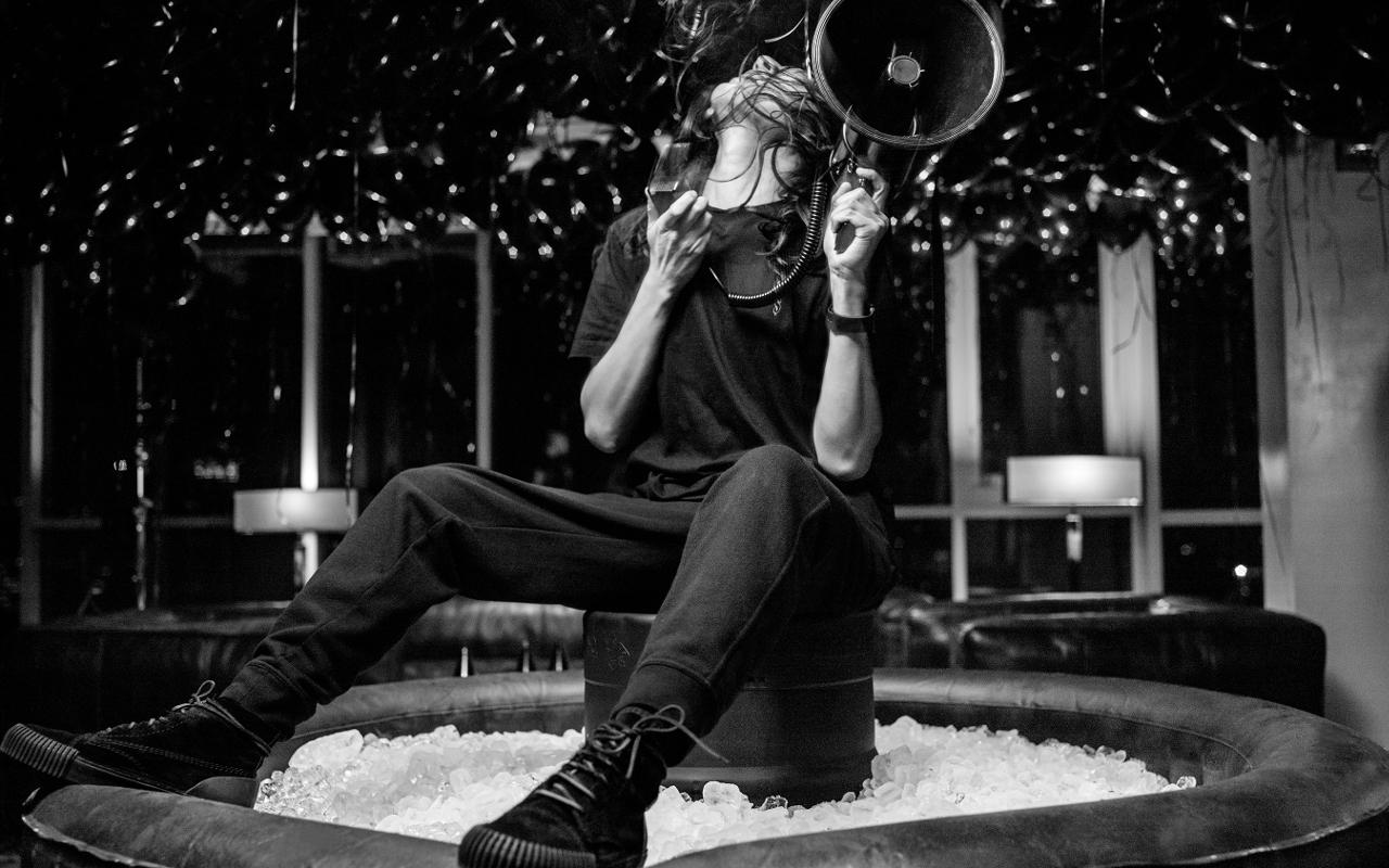 Alexander Wang photographed for Apple Music Fashion © Apple