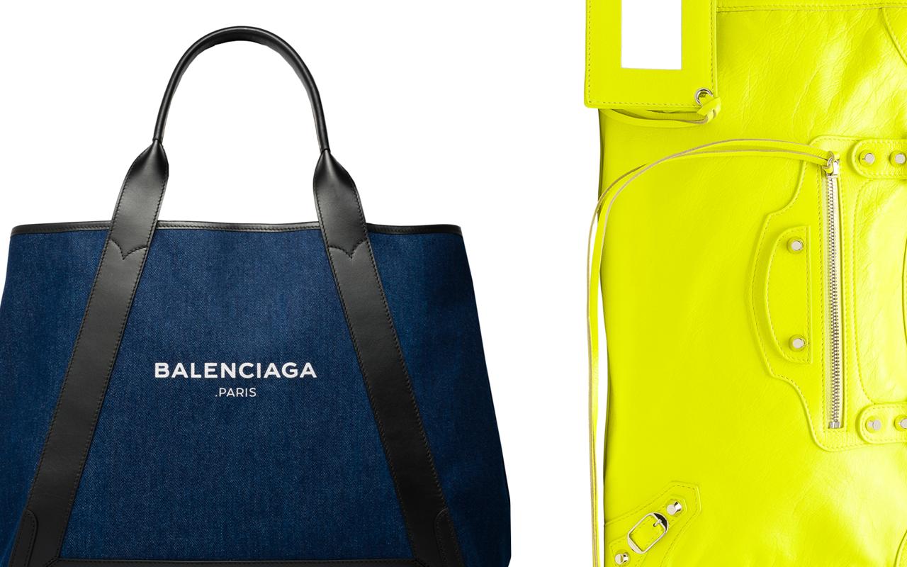 huge discount 3bcda 5729e アイコンバッグの新色が勢ぞろい、BALENCIAGA (バレンシアガ) が ...