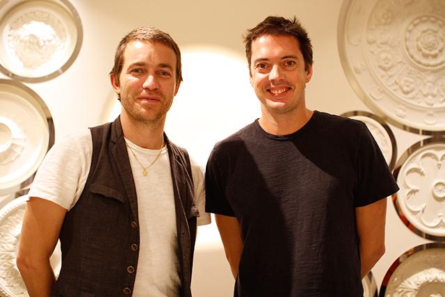 David Neville と Marcus Wainwright | Photo by Daisuke Yokota