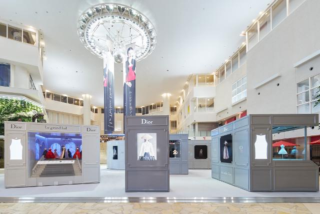 quality design 30ee7 c7b51 ル・テアトル・ディオール」が阪急うめだ本店にて開催、メゾンを ...
