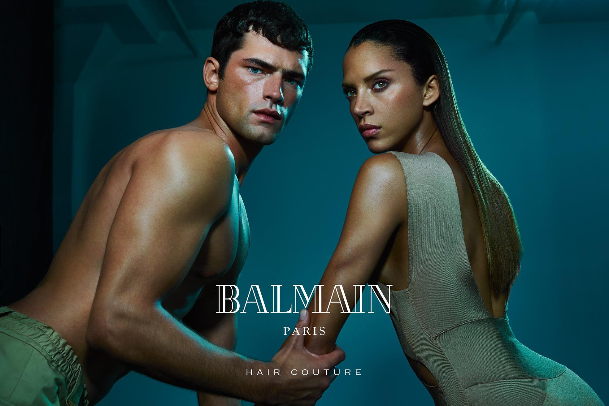 Image via Balmain Hair Couture Facebook page