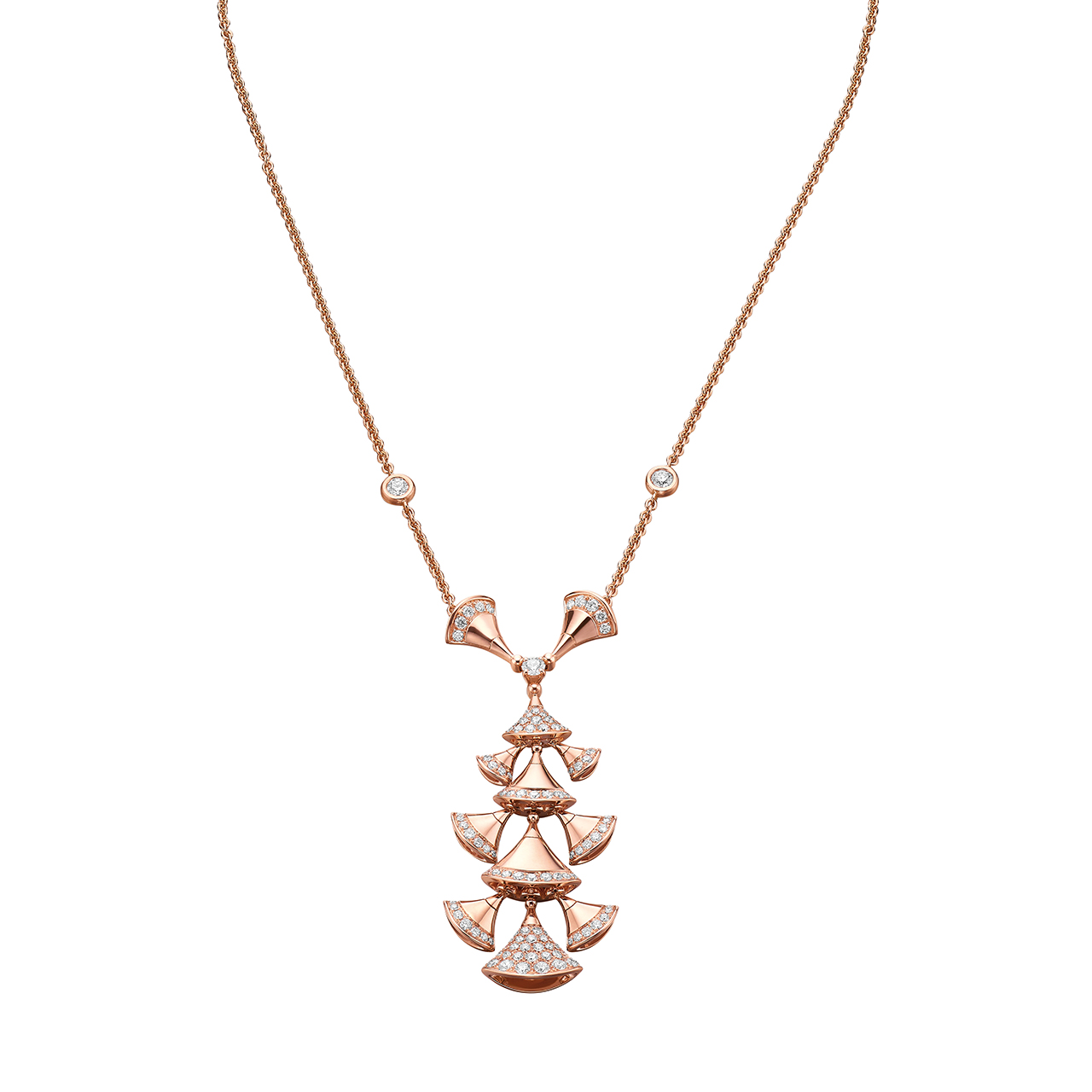 「ディーヴァ ドリーム」ネックレス (PG、ダイヤ) ¥ 1,440,000