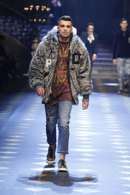 Josh Cuthbert (ジョシュ・カスバート) | © Dolce&Gabbana