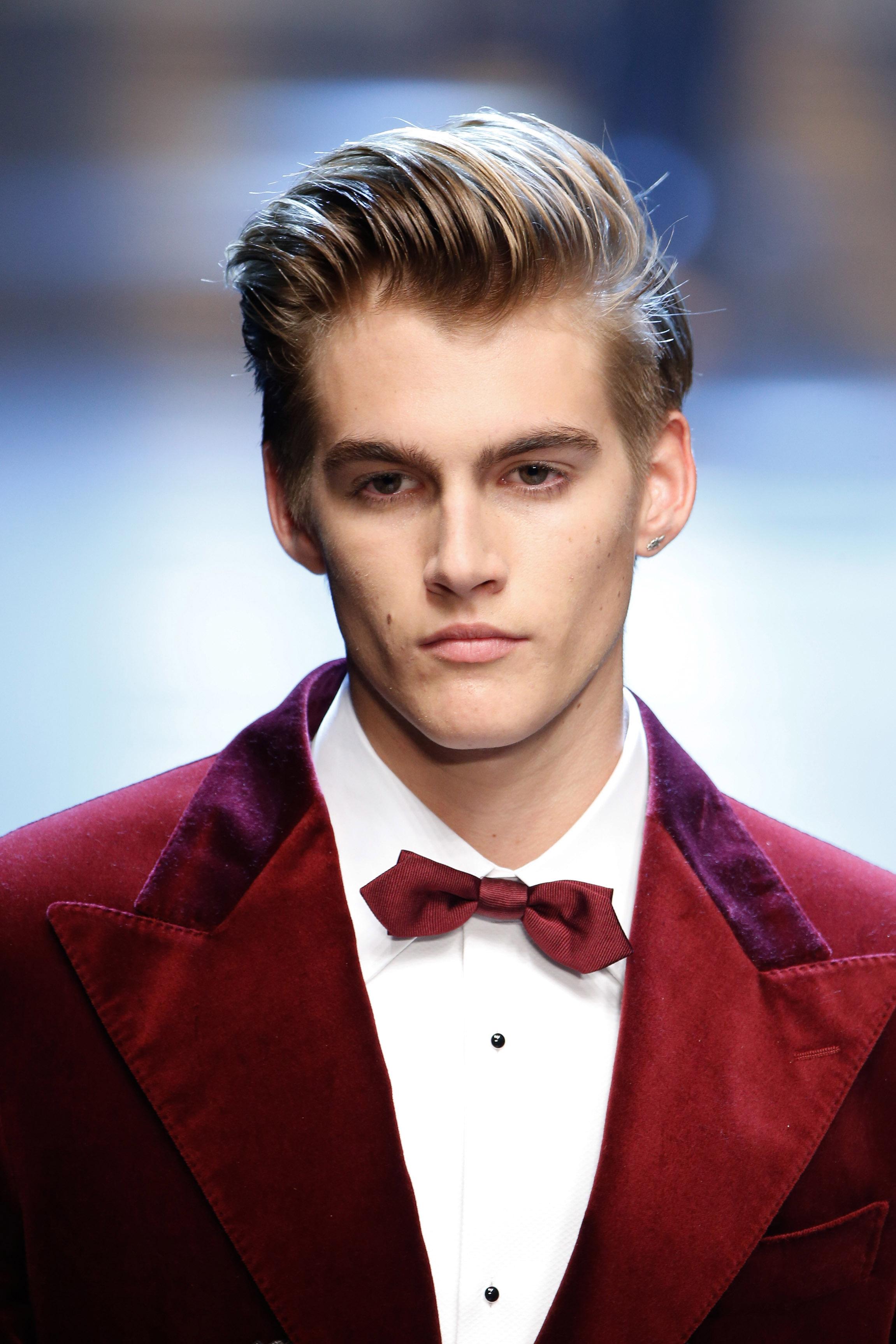 Presley Garber (プレスリー・ガーバー) | © Dolce&Gabbana