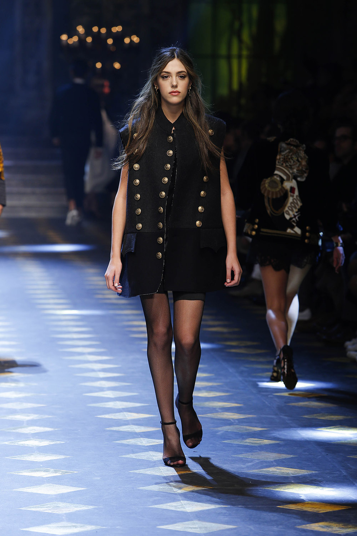 Sistine Stallone (システィーン・スタローン) | © Dolce&Gabbana