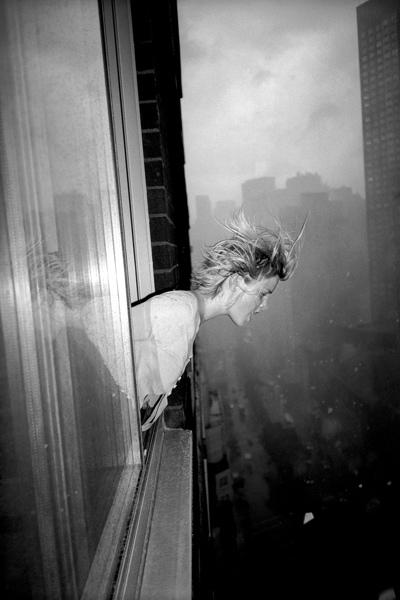'Girl out the Window' | Courtesy of Ruvan Wijesooriya