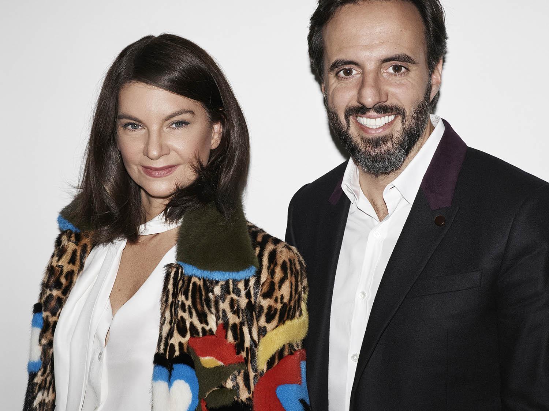 (左) Natalie Massenet、(右) José Neves | Courtesy Farfetch Press Office