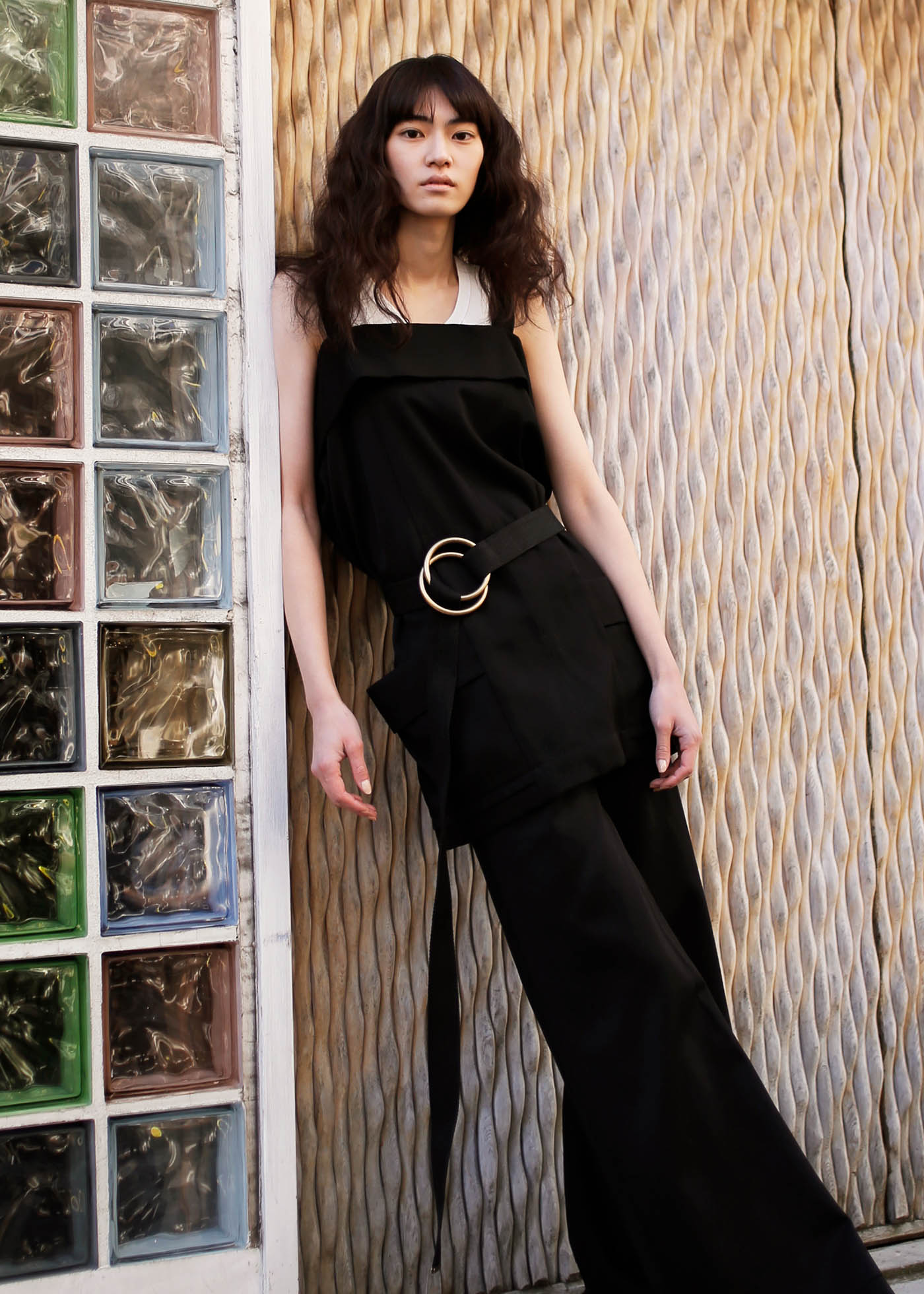 <The Look includes> トップ ¥ 215,000、トップ ¥ 45,000、パンツ ¥ 198,000 共に Chloé