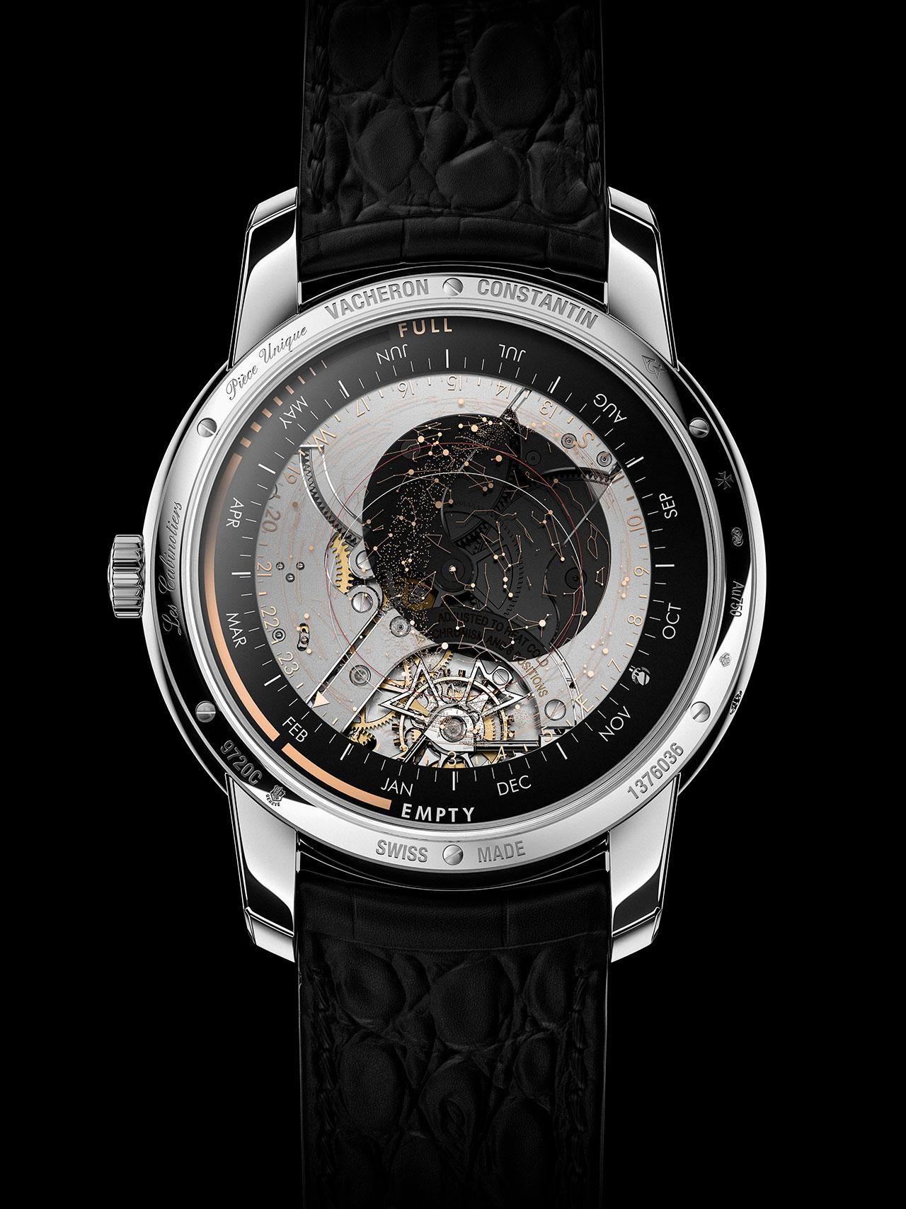 世界に一つしかない天文時計、「レ・キャビノティエ・セレスティア・アストロノミカル・ グランド・コンプリケーション 3600」
