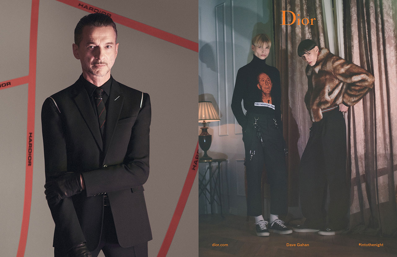 DIOR HOMME WINTER 2017-2018 AD CAMPAIGN