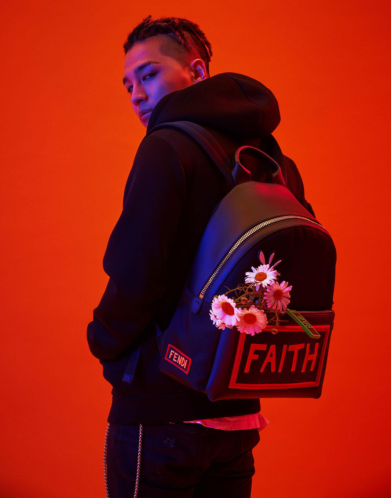 「FENDI FOR Young Bae」| ©︎ Fendi