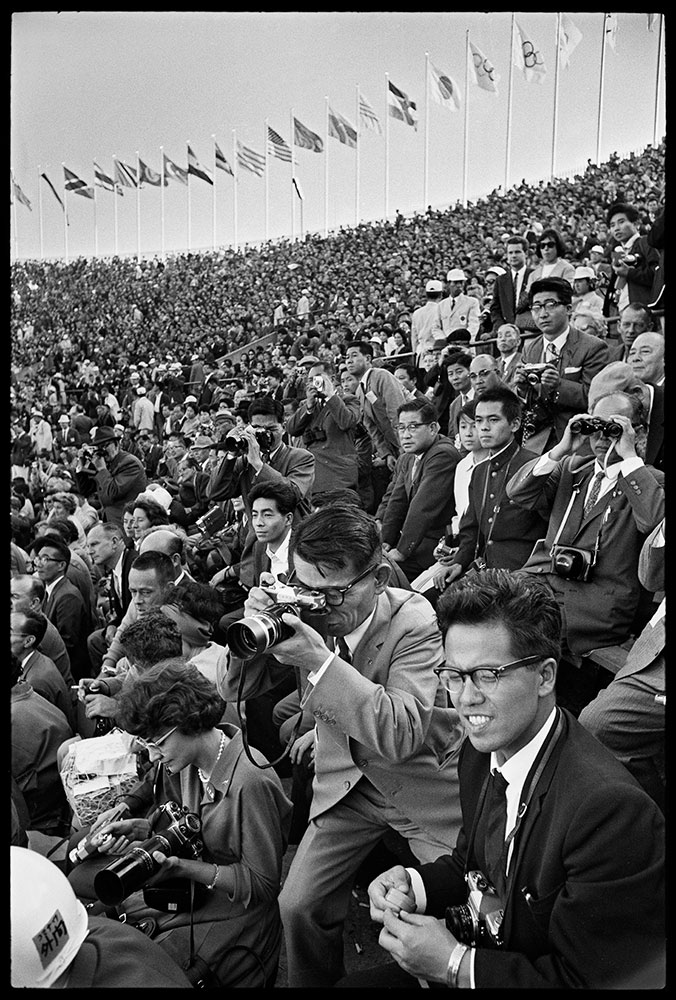© Raymond Depardon / Dalmas-Sipa Press J.O. Tokyo 1964