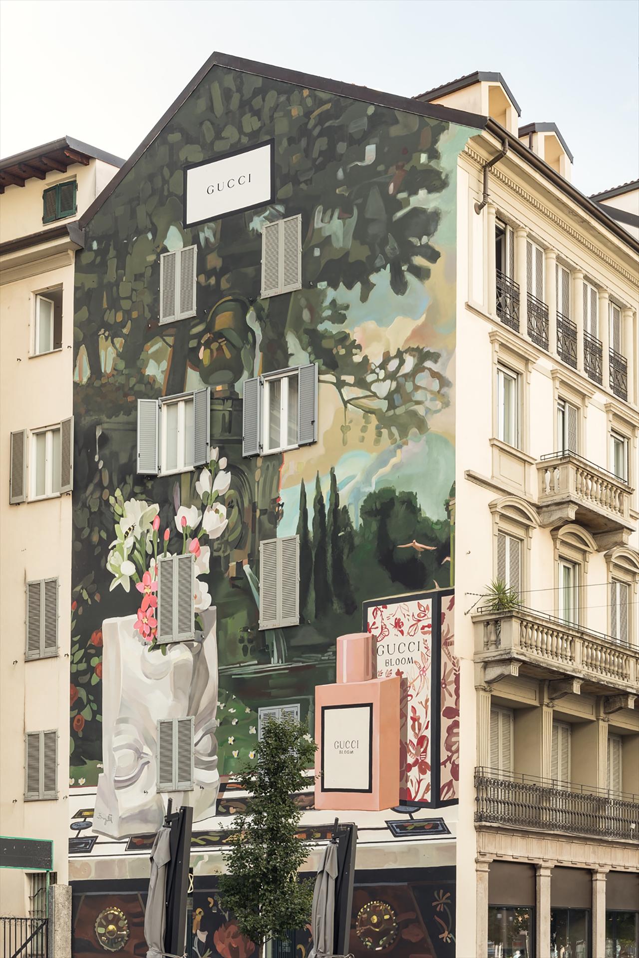 Milan Wall Courtesy of Delfino Sisto Legnani | ©︎ Gucci