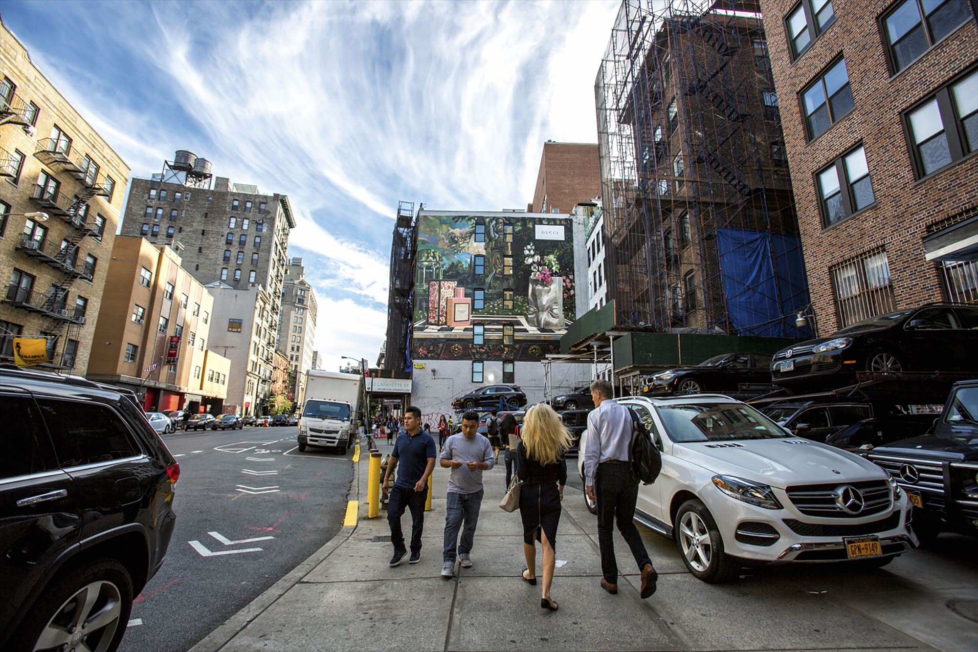 NY Wall Courtesy of Krista Lindahl Colossal   ©︎ Gucci