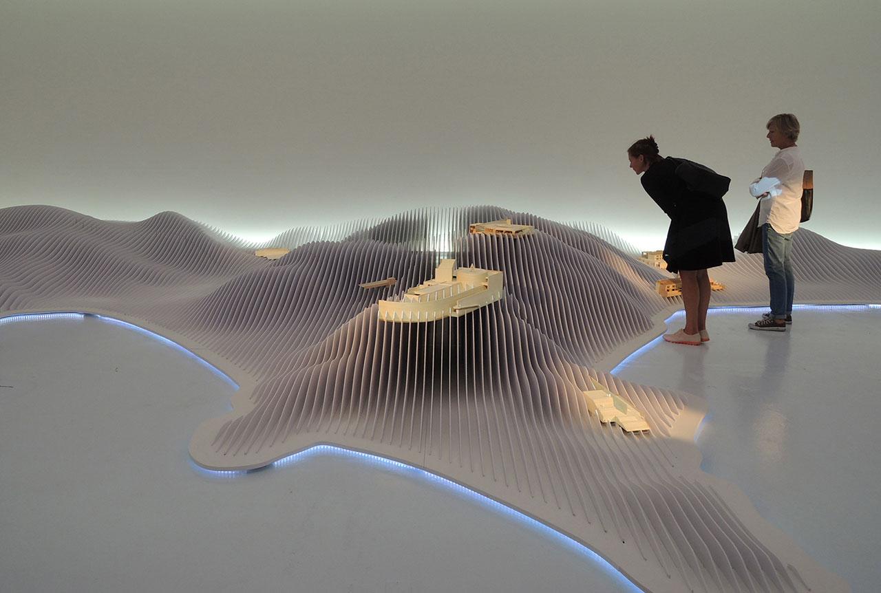 直島の一連のプロジェクト模型 香川県直島町 / Model of Naoshima Project Naoshima, Kagawa