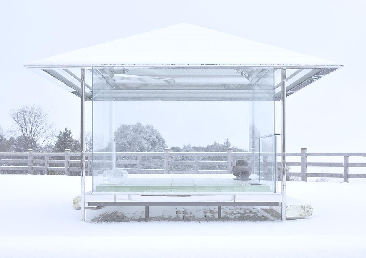 「光庵 - ガラスの茶室」(2015)