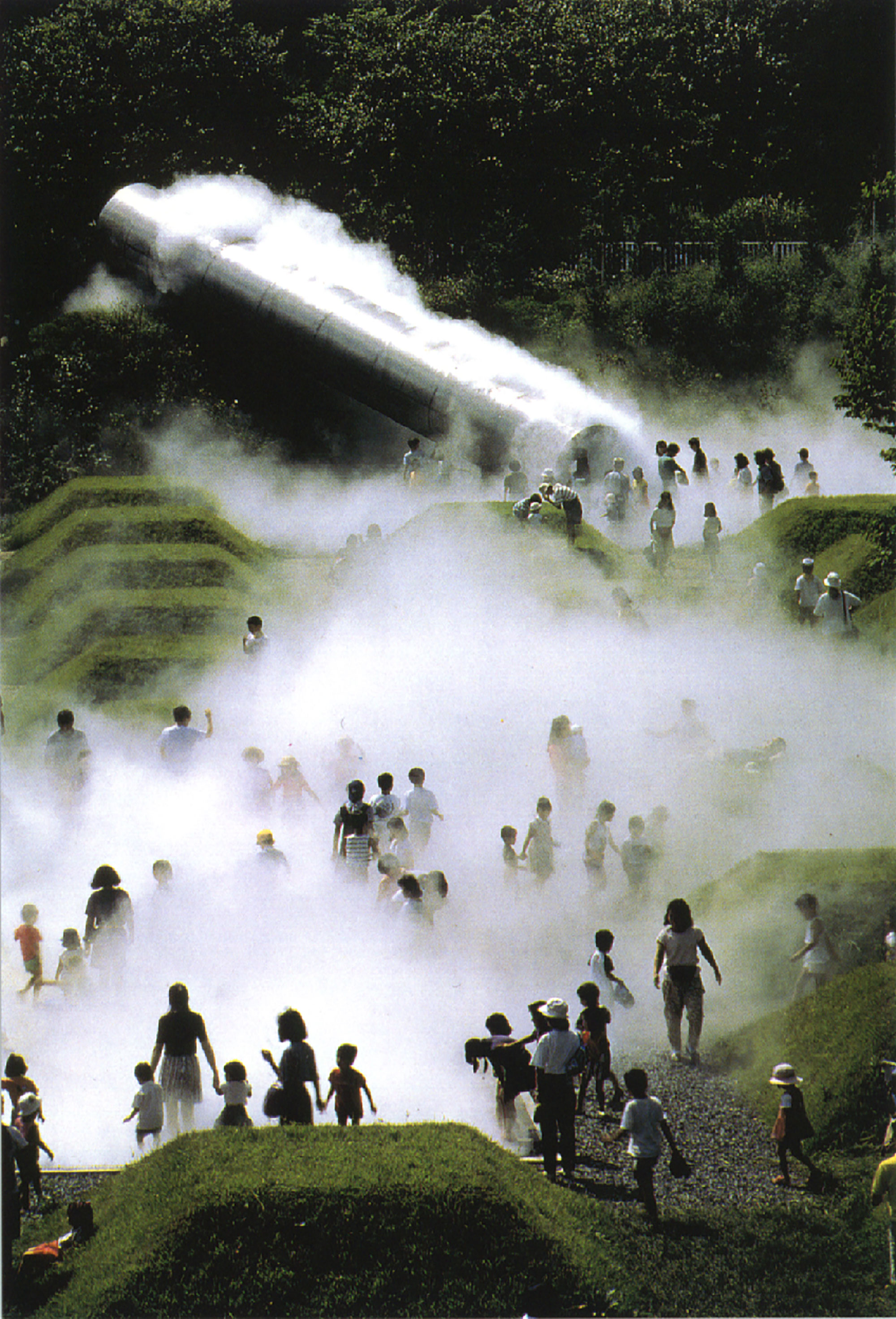 Foggy Forest | 1992 | Showa Kinen Park, Tachikawa, Japan (Permanent Installation) ©︎ Shigeo Ogawa