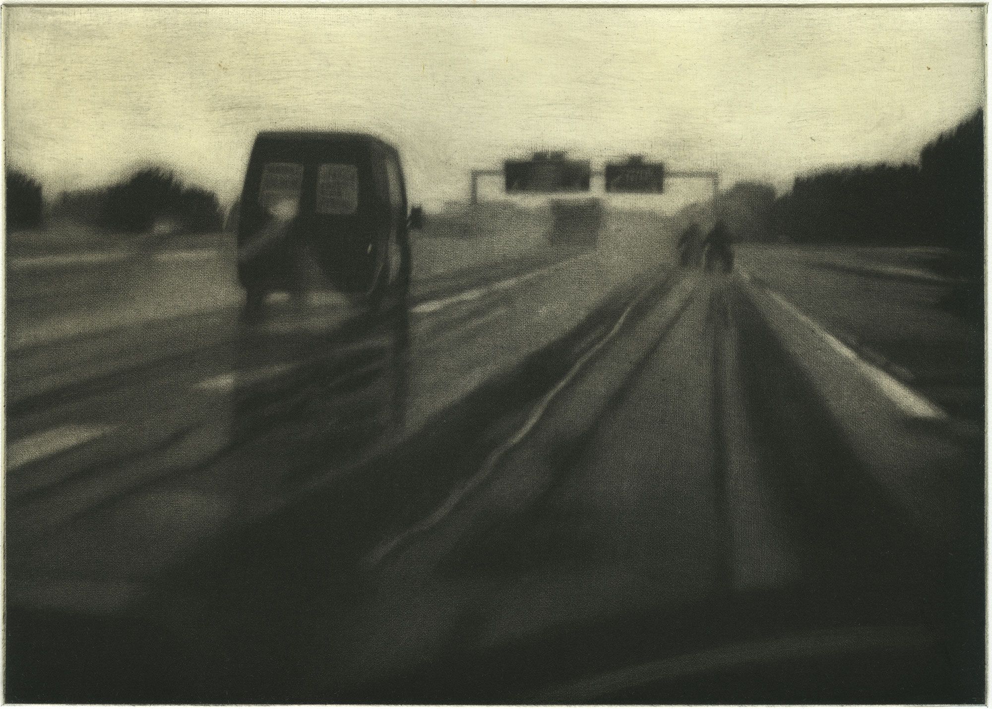 Sylvia Bataille / autoroute VI © Sylvia Bataille