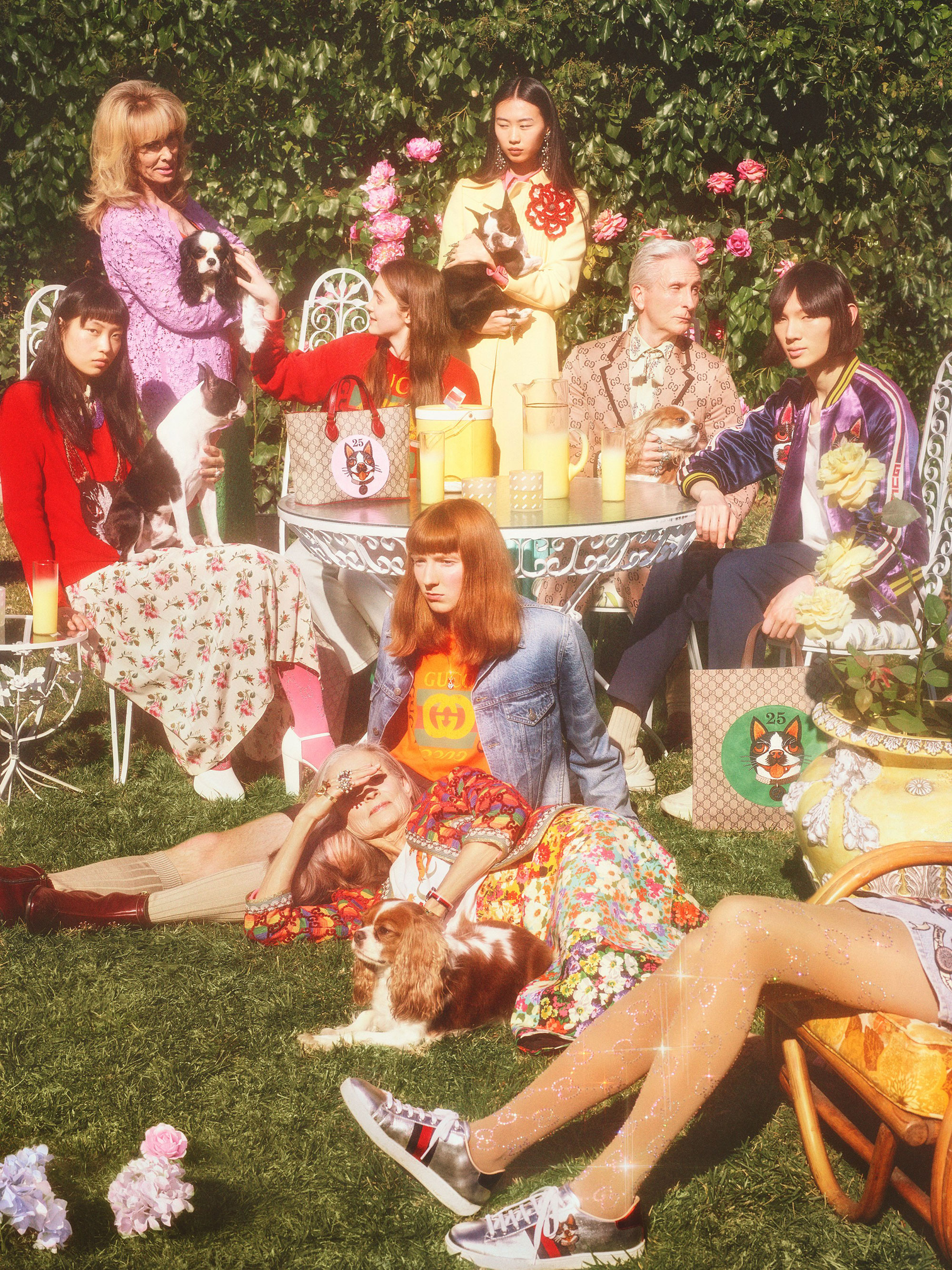 Courtesy of Gucci, Photos by Petra Collins