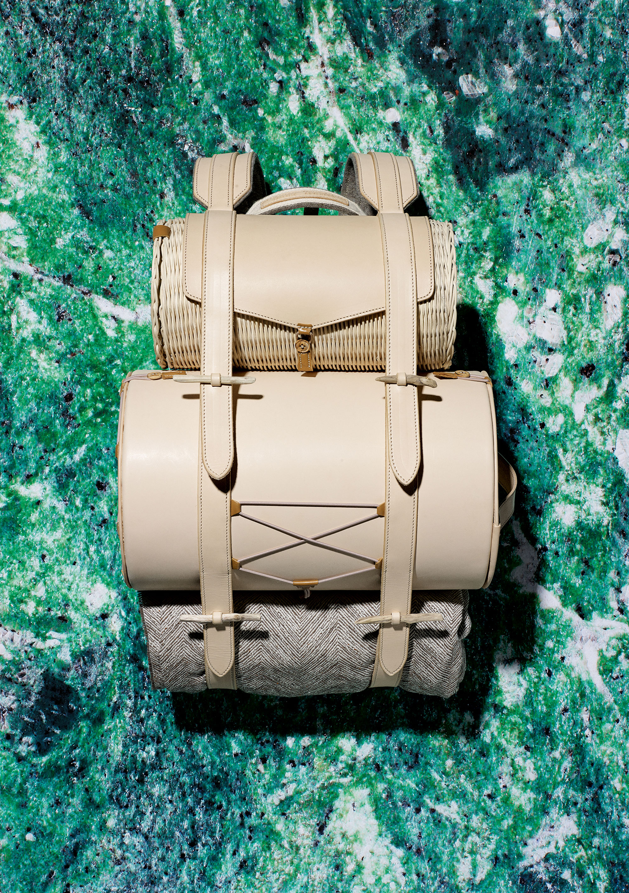 Alexis Tourron (France) • Leather backpack for Vacheron Constantin Photo by Jonas Marguet • Courtesy of ECAL and The Mass