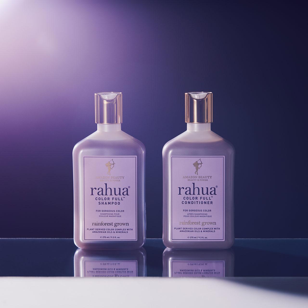 rahua CFシャンプー 275㎖ ¥5,500、同コンディショナー 275㎖ ¥5,700