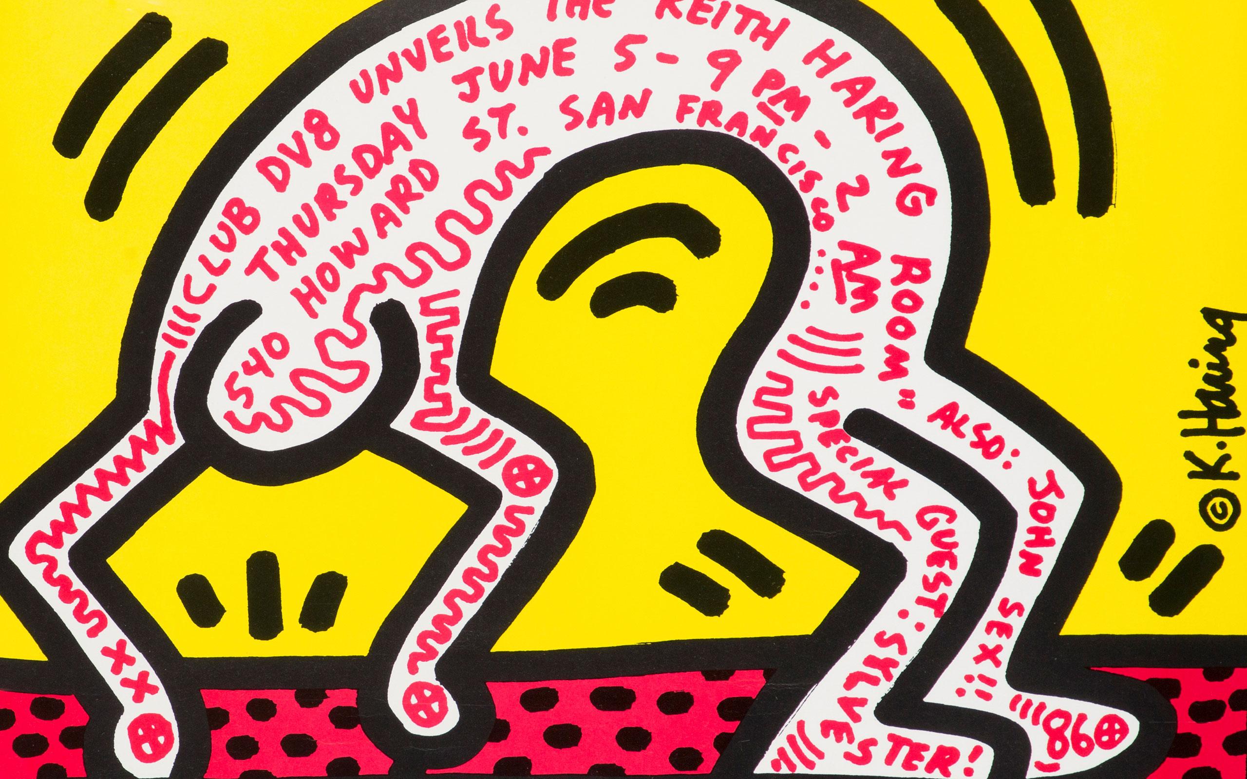 キース ヘリング生誕60周年を記念した特別展 Pop Music Street キース ヘリングが愛した街 表参道 が表参道ヒルズにて開催 News The Fashion Post