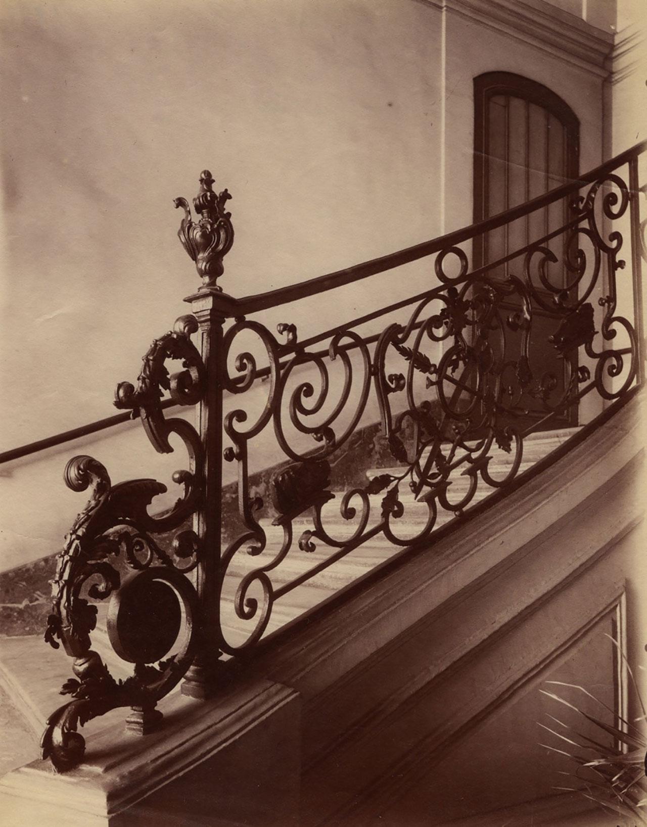 4232.Hotel d`Ecquevilly.Grand veneur de Louis xv.Rue de Turenne 60 © Eugène Atget / M84