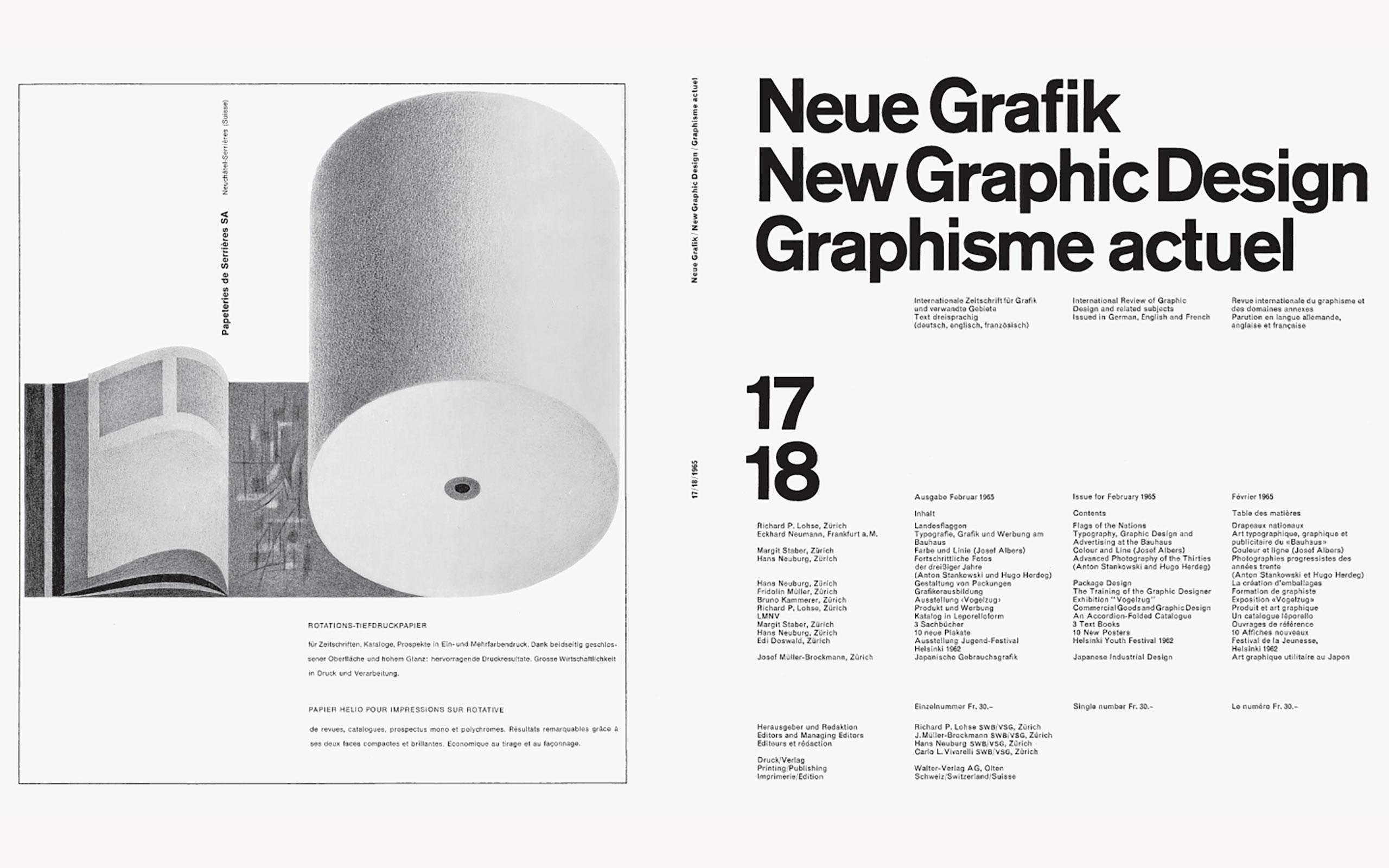 『Neue Grafik』