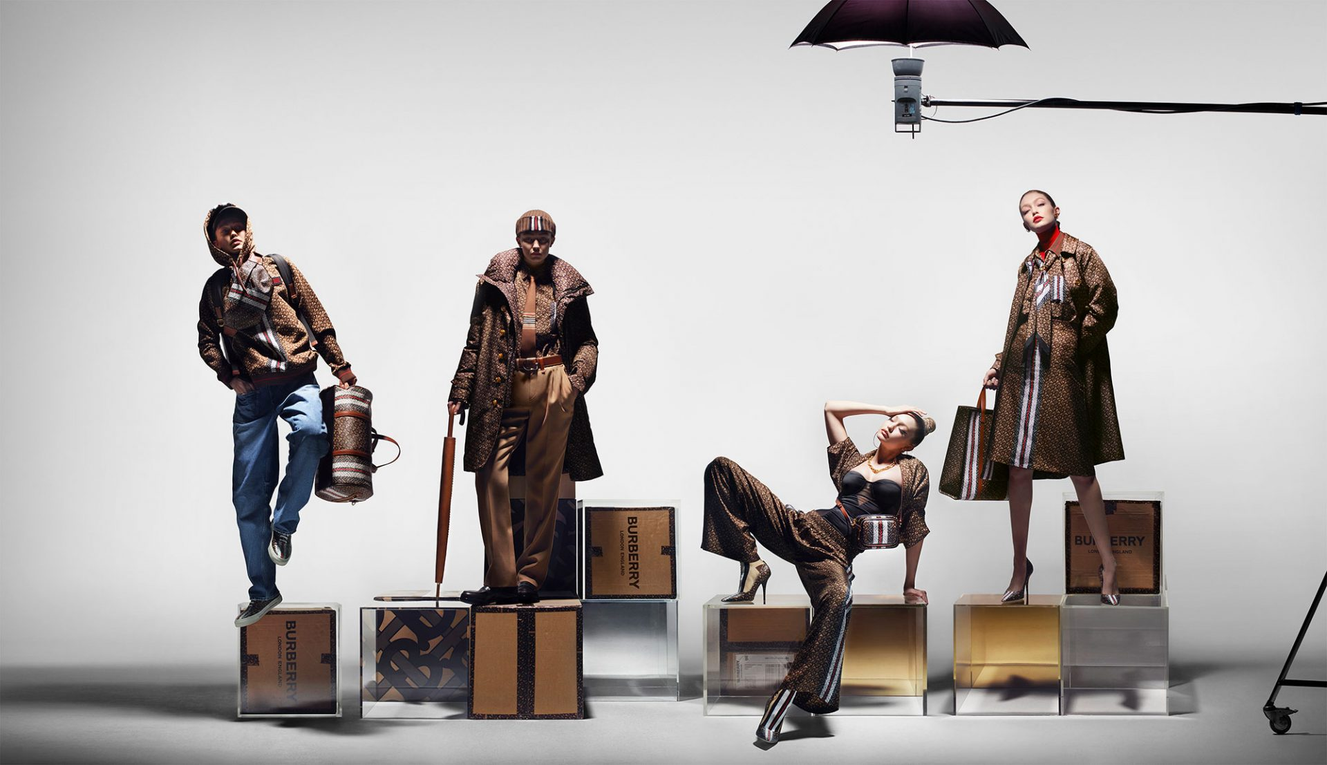 © Courtesy of Burberry / Nick Knight