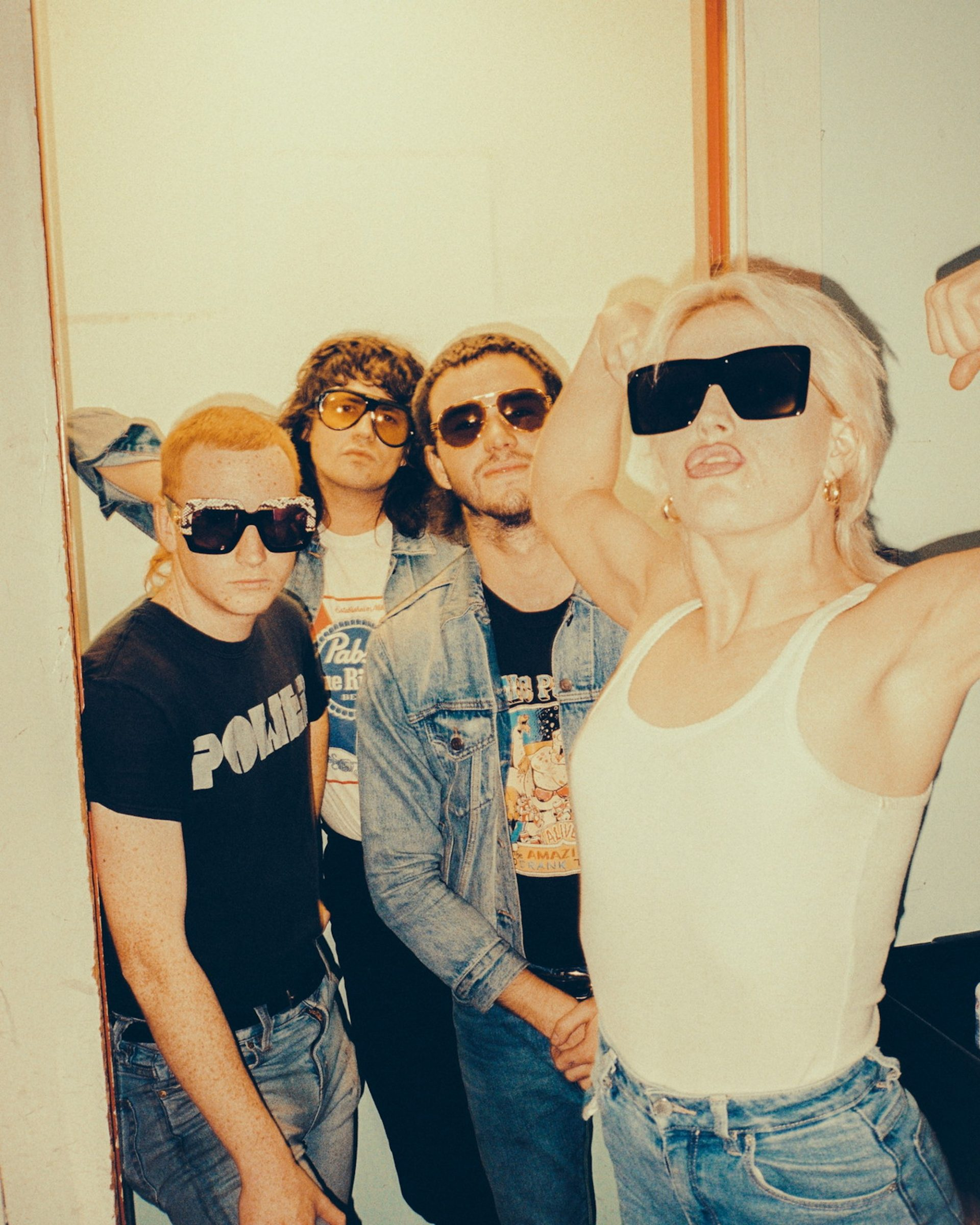 Amyl and the Sniffers  | Courtesy of Gucci