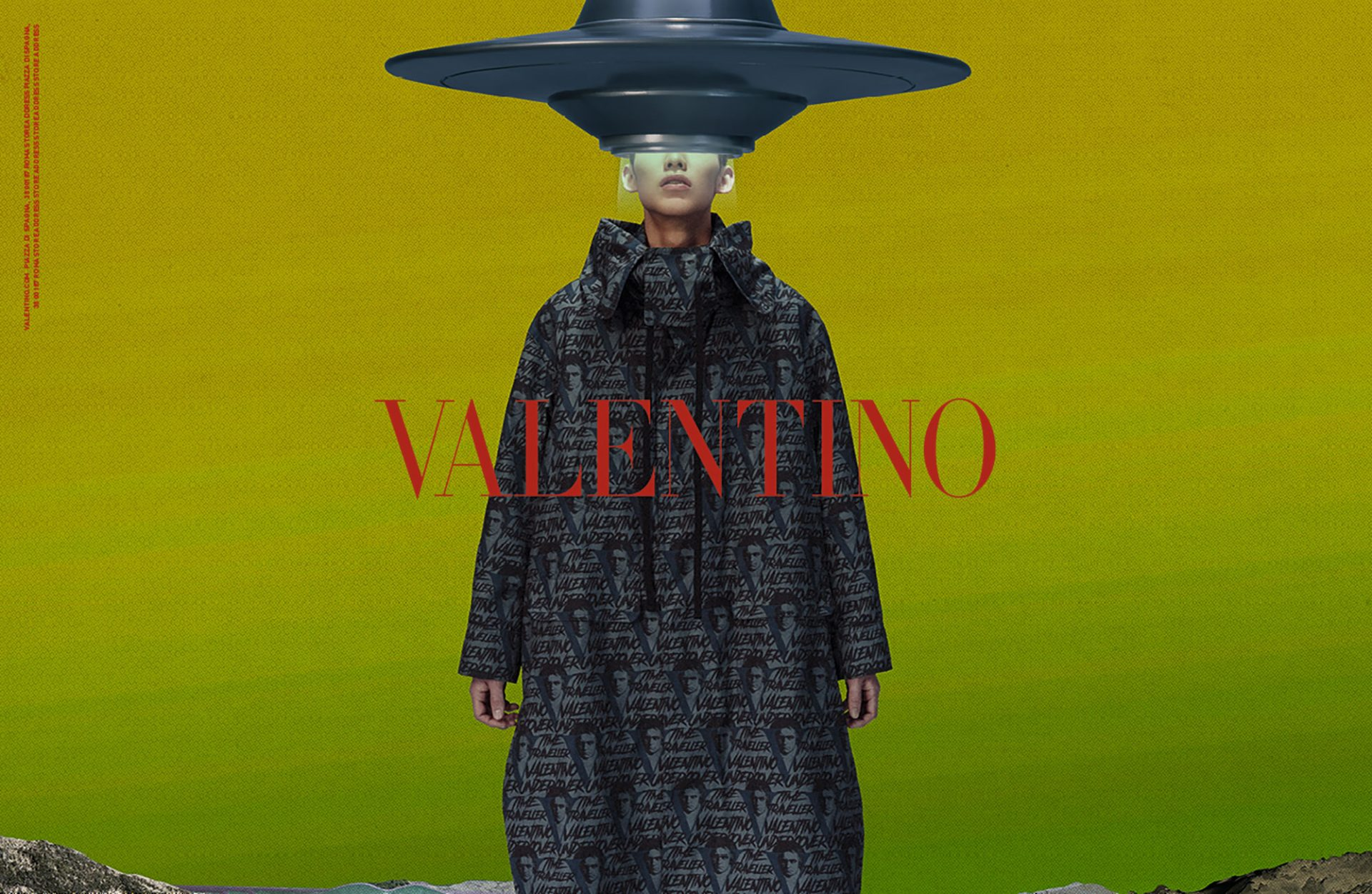 「UNDERCOVER PRODUCTION」が手がけたヴァレンティノ2019-20秋冬メンズコレクションのキャンペーン © Valentino