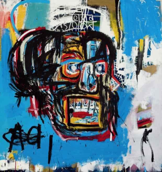 ジャン=ミシェル・バスキア Untitled, 1982 Oilstick, acrylic, spray paint on canvas 183.2×173 cm Yusaku Maezawa Collection, Chiba