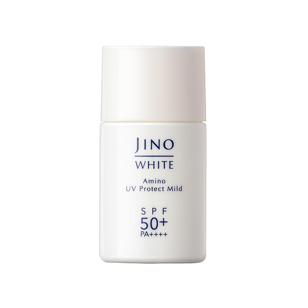 「ジーノ」ホワイト アミノUVプロテクト マイルド <日やけ止め用乳液> SPF50+ / PA++++ 40ml ¥2,700 (12月1日発売)