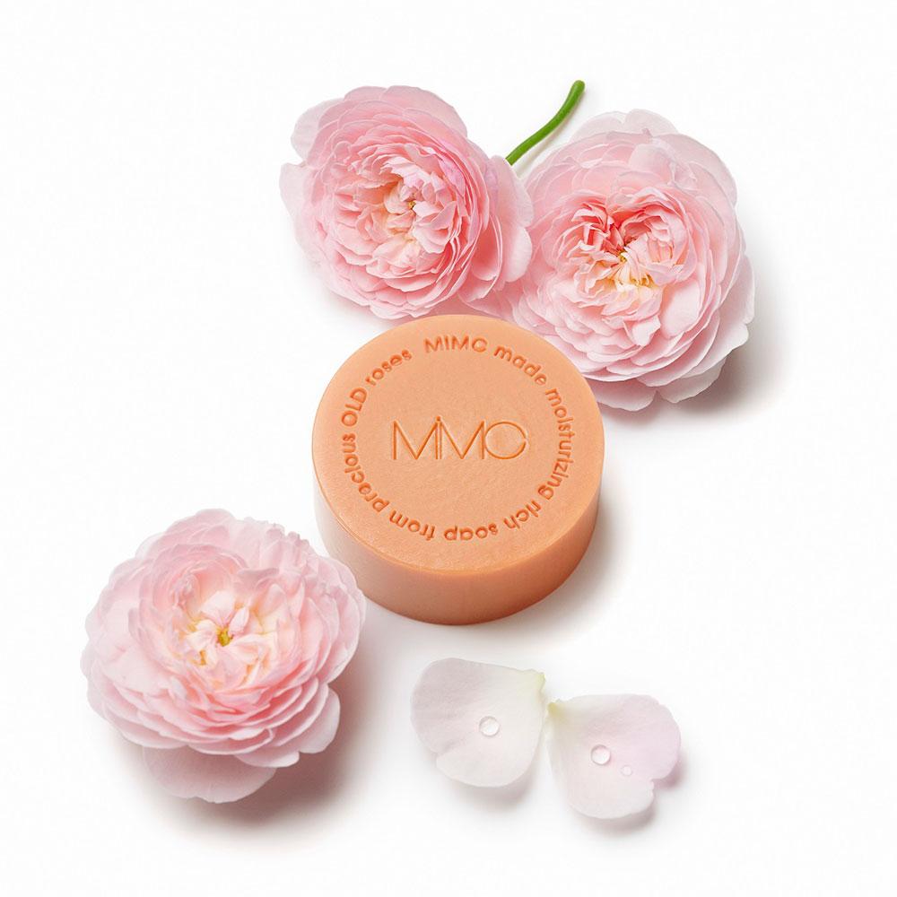 MIMC ロイヤルローズソープ 100g ¥5,000 (12月11日限定発売)