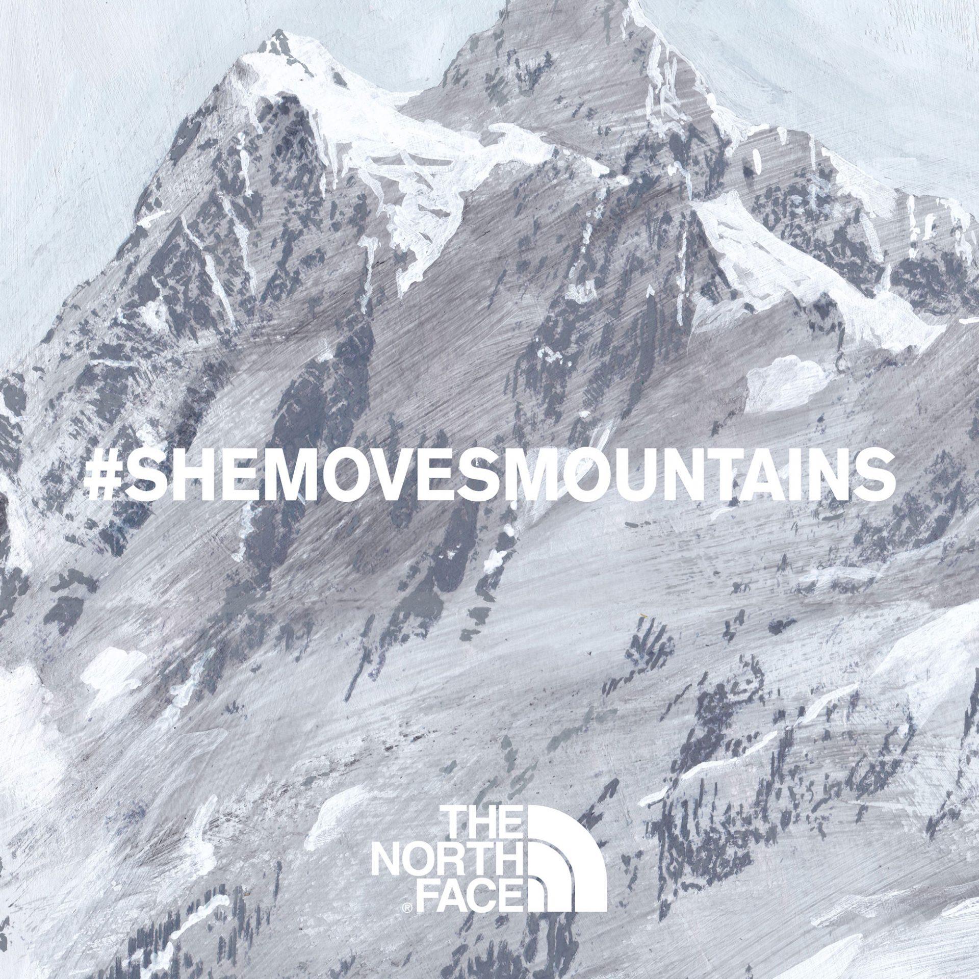 「#SHEMOVESMOUNTAINS」キービジュアル